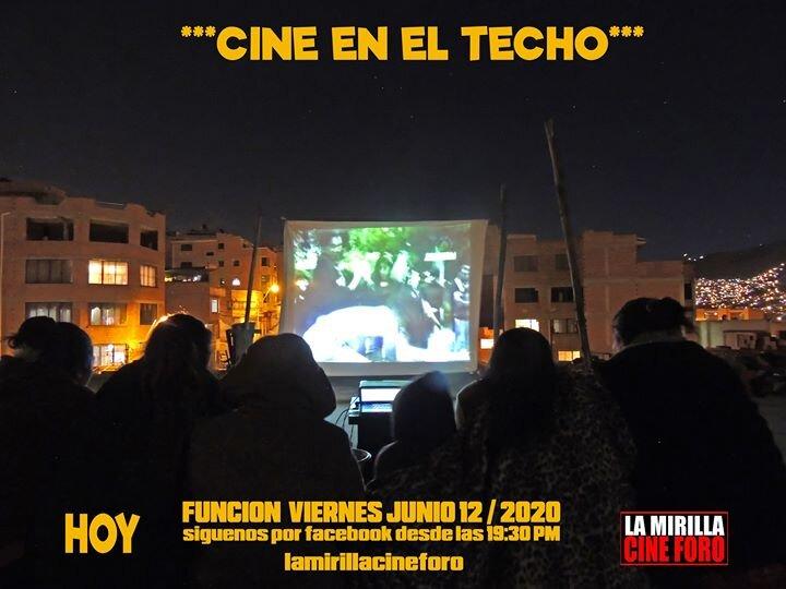 Una noche de Cine en el Techo